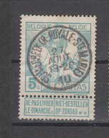COB 86 Oblitération Centrale SCHAERBEEK (R. Royale-Ste-Marie) - 1910-1911 Caritas