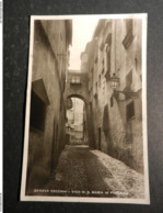 20018) GENOVA VECCHIA VICO S. MARIA IN PASSIONE EDITORE MANGINI & C. NON VIAGGIATA - Genova (Genoa)