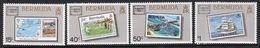 Bermuda Elizabeth II 1986 Set Of Stamps To Celebrate International Stamp Exhibition. - Bermuda