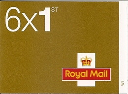 GREAT BRITAIN, WINDOW BOOKLET (RETAIL), 2006, RC 1, 6x1st - Carnets
