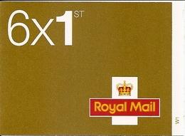 GREAT BRITAIN, WINDOW BOOKLET (RETAIL), 2006, RC 1a, 6x1st. Adv. 'don't Just Send...' - Libretti