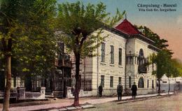 CÂMPULUNG MUSCEL : VILA GOB GR. IORGULISCU - 1929 (ad471) - Romania