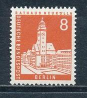 Berlin 187 R ** Mi. 9,- - Francobolli In Bobina