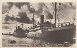AK - VARNA - Zwei Dampfer Im Hafen 1960 - Bulgarien