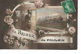 52 - Un Baiser De FOULAIN - Cliché Peu Courant - Sonstige Gemeinden