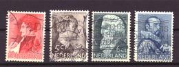 Nederland - Niederlande - Pays Bas NVPH 274 T/m 277 Used (1935) - Used Stamps