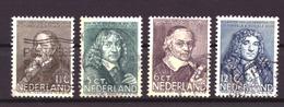 Nederland - Niederlande - Pays Bas NVPH 296 T/m 299 Used (1937) - Used Stamps