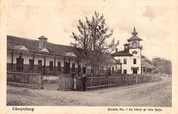 CÂMPULUNG MUSCEL : SCOALA No. 1 DE BAIETI Si VILA SUTU ~ 1930 - '933 (ad472) - Rumänien