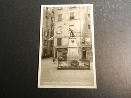 20018) GENOVA VECCHIA GENOVA PORTORIA MONUMENTO A BALILLA EDITORE MANGINI & C. NON VIAGGIATA - Genova (Genoa)