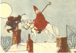 8) Saint-Nicolas - Sinterklaas - Zeer Goede Staat - L'état Très Bon ! - 10 X 15 Cm - Saint-Nicolas