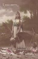 LOT//386.....10 CPA PATRIOTIQUES ...LES FEMMES - 5 - 99 Postkaarten