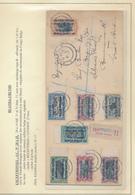 GEA RUANDA URUNDI 1916 ISSUE COMPLETE SET ON REGISTERED COVER FROM KIGOMA 06.07.1917 TO GREAT BRITAIN - Ruanda-Urundi
