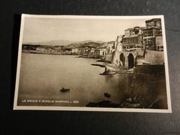 20018) GENOVA VECCHIA GENOVA LE GRAZIE E LO SCOGLIO CAMPANA EDITORE MANGINI & C. NON VIAGGIATA - Genova (Genoa)