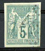 N°31 COLONIES GENERALES 5ct Vert Type Sage. Oblitéré. TB - Sage