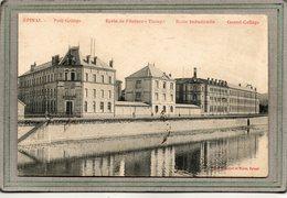 CPA - EPINAL (88) - Aspect De L'Ecole De Filature-Tissage-Métiers Du Textile En 1928 - Epinal