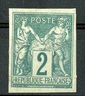 N°30 COLONIES GENERALES 2ct Vert Type Sage. * (MH) - Sage