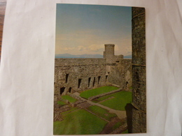 Harlech Castle - Gwynedd - View Across Inner Ward Towards Hall - Autres