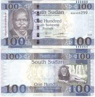South Sudan - 100 Pounds 2019 P. 15 - New XF+ / AUNC Lemberg-Zp - Sudan