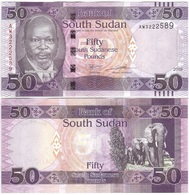 South Sudan - 50 Pounds 2019 P. 14 - New XF+ / AUNC Lemberg-Zp - Sudan