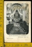 Torino Pont Canavese Altar Maggiore Di S. Costanzo (piega Angolino) - Italia