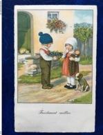 "Cpa--""Fraichement Cueillies""--Pauli Ebner (my Ref PE60)-1934 - Ebner, Pauli"