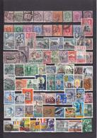UN LOT DE 118 TIMBRES OBLITERES - Ceylon (...-1947)