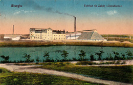 GIURGIU : FABRICA DE ZAHAR DANUBIANA / SUCRERIE / SUGAR FACTORY - ANNÉE / YEAR : 1927 (ad478) - Rumania