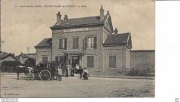 02.  Aisne  :  Notre Dame De Liesse : La Gare . - Autres Communes