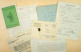 Konvolut WK2 Und Kurz Danach Bzgl. Eines Gefallenen Deutschen Soldaten - 1939-45
