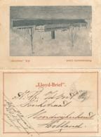 Nederlands Indië - 1929 - Lloyd-brief Van S.S. Insulinde Naar Noordwijkerhout - Quality Issues... - Niederländisch-Indien