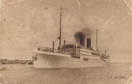 UK / Nederland - 1921 - Rotterdamsche Lloyd - SS Patria - Sent From London To Sliedrecht - Passagiersschepen