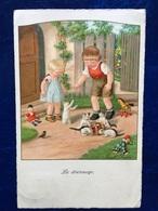 "Cpa--""Le Dressage""--Pauli Ebner (my Ref PE71)-1936 - Ebner, Pauli"