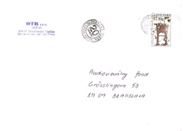 Slovakia Cover With Special Cancel - 20 Years Of Slovak Post ... Ax596 - Slowakische Republik