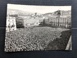 TRIESTE AL 4 NOVEMBRE 1954  FOTO ORIGINALE FORMATO CARTOLINA - Trieste
