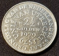 """Netherlands 2 ½ Gulden 1979 """"400th Anniversary Of The Union Of Utrecht"""" - [ 3] 1815-… : Kingdom Of The Netherlands"""