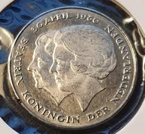 Netherlands 1 Gulden 1980  UNC - [ 3] 1815-… : Kingdom Of The Netherlands