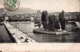 GENEVE - Pont Du Montblanc - - GE Genève