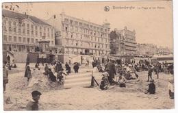 BLANKENBERGHE - La Plage Et Les Hôtels - Blankenberge