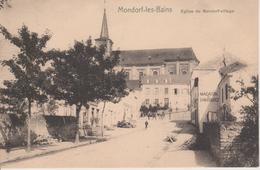 MONDORF LES BAINS - EGLISE DE MONDORF VILLAGE - NELS SERIE 3 N° 19 - Mondorf-les-Bains