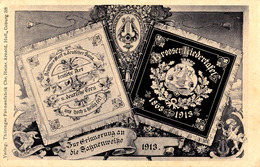 ORASTIE - HUNEDOARA / SZÁSZVÁROS / BROOS : FAHNENWEIHE - BROOSER LIEDERTAFEL / FILARMONICA ORASTIE : 1913 (ad484) - Roumanie