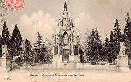 GENEVE - Monument Brunswick Avec Les Lions - GE Genève