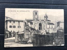 UN SALUTO DA OSPEDALETTO 1915 - Udine