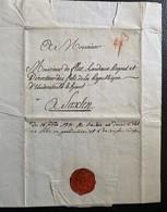 60116 -  Lettre De Soleure à M. De Flue Directeur De La Répunlique D'Underwald Le Haut à Saxlen (Sachseln) 16.09.1791 - Zwitserland