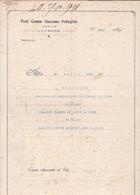 DOCUMENTO IN CARTA BOLLATA L. 3 - PARRE (BG ) ATTO DI CESSIONE -  DAL SIGNOR PALAMINI GIACOMO AL SIGNOR PALAMINI PIETRO - Documenti Storici