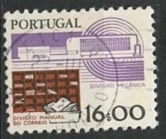Portugal 1983 Y&T N°1587 - Michel N°1610 (o) - 16e Tris Mécaniques - 1910-... République