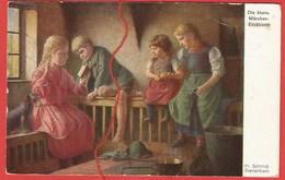 Die Kleine Märchenerzählerin, Nach Einem Gemälde Von F. Schmid-Breitenbach - Unclassified