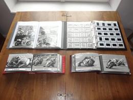 Photos De Presse Motos Grand Prix 250 Cc - 500 Cc En 4 Album 500 Photos (350) Et Diapos (152) - Deportes