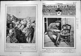 ILLUSTRIERIER KRIEGS-KURIERR ( COURRIER DE GUERRE) Nr.3 -3. Jahrgang - Revues & Journaux