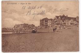 LA PANNE (1908) - Digue De Mer - De Panne