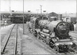 Photo D'une Locomotive Allemande - Eisenbahnen